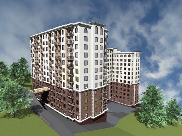 Жилой комплекс «Покровский» в Центральном районе Сочи