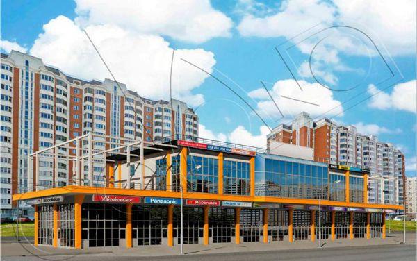 Торговый комплекс в районе Щербинка г. Москвы